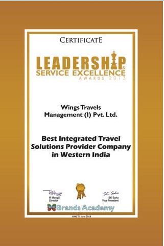 Leadership service execellence award