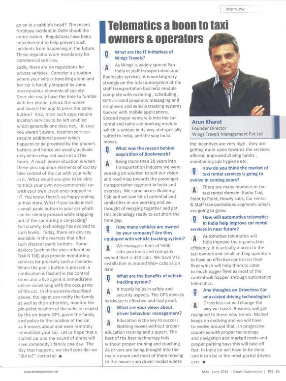 Arun Kharat Interview